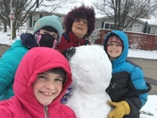 Its the second day of spring and its a snow day with the grandchildren