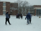 College Snow Day