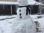Overlea's 7ft Snowman