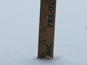"""14"""" inches of snow West Manchester township"""