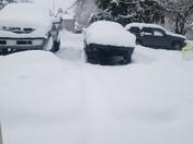 East prospect, snowed in