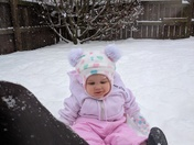 Enjoying my 1st snow