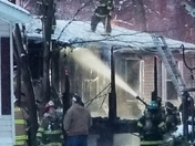 Mobile home fire in Perryman