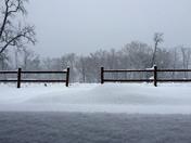 Beautiful snow scene...