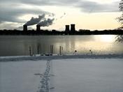 Snow day in Goldsboro