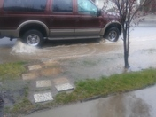Folsom rain