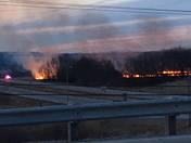 Burlington/Rochester Wisconsin Brush Fire