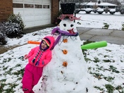 Who says you can't have fun in the snow in spring ?