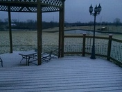 Snow overnight in Turney, Mo.