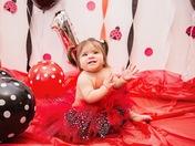 Adellena Vasquez turns 1 yr old on March 31, 2018