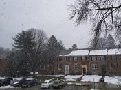 Snowing in Mays Chapel!