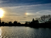 Sun Dog as seen from Stockton.