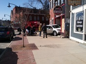Accident on main street  Newmarket  nh