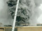 Bulova building fire