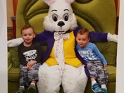 In awe of the Easter Bunny!