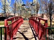 Spring day bridge