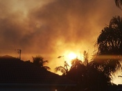 Smoke from fire psl