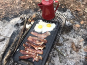Breakfast on the South Edisto River