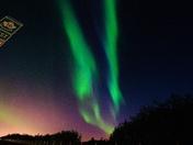 Aurora on highway 16