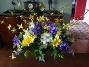 Easter cemetery arrangement
