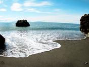 Beautiful Sombrio Beach.