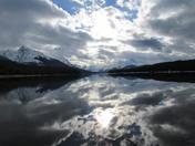 Winter at Maligne Lake