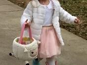 Savannah Curry enjoying Easter !
