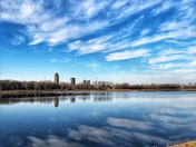 Reflections on Gray's Lake