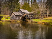 The Mabry Mill in Spring