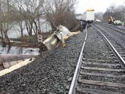 Train Derailment in Huntingdon!