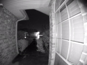 This lightning strike was captured on my Ring doorbell at 5:33 am this morning in Houma.