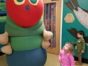 The Very Hungry Caterpillar visits the Children's Museum of NH