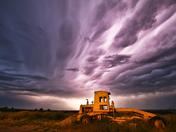 Crazy lightning around Crawford, Nebraska