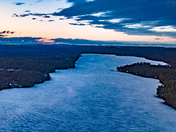Highland Lake Sunset