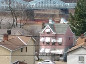 Photos of barge that hit the Duquesne/McKeesport bridge