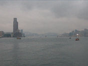 harbour of Hong Kong