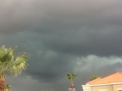 Weather clouds coming to town