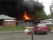House Fire in Olivehurst