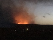 Zuni Mountain wildfire