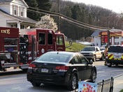 There is an accident in Windsor PA.
