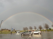 Rainbow at KCI Airport