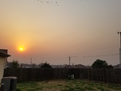 Smoke Blowing Into OKC