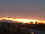 This photo was taken on peck Rd Poteau Oklahoma  after the storm that came through here