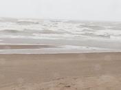 Waves on Lake Michigan  in Racine.