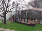 Fire at Fairfield Pointe apartment complex today.