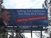 Congressman Tom McClintock Billboard