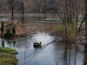 Saddle brook park flooded