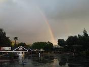 Double rainbow in Casa de fruta in Hollister 4/16/18