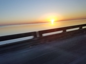 Morning Sunrise as seen from I-10
