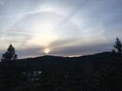Oregon House sunset tonight